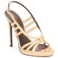 鞋子 女士 凉鞋 Roberto Cavalli 罗伯特·卡沃利 QDS626-PL028 米色