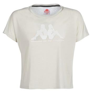 衣服 女士 短袖體恤 Kappa 卡帕 YERRI 米色 / 灰色