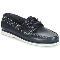鞋子 男士 船鞋 Lumberjack NAVIGATOR 海藍色