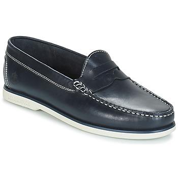 鞋子 男士 皮便鞋 Lumberjack NAVIGATOR 海藍色