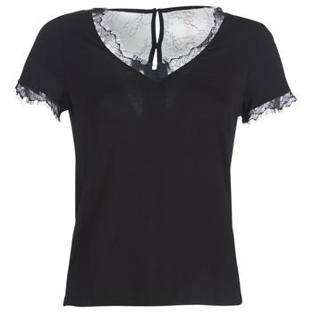 衣服 女士 短袖体恤 Morgan DMINOL 黑色