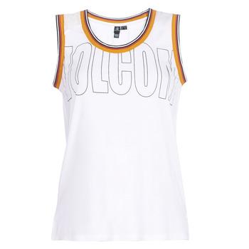 衣服 女士 无领短袖套衫/无袖T恤 Volcom IVOL TANK 白色