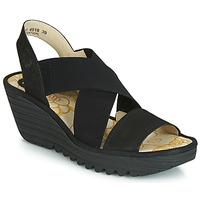 鞋子 女士 高跟鞋 Fly London YAJI 黑色