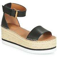鞋子 女士 帆布便鞋 See by Chloé SB32201A 黑色