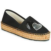 鞋子 女士 帆布便鞋 Love Moschino JA10243G07 黑色