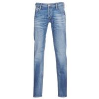 衣服 男士 緊身牛仔褲 Le Temps des Cerises 711 藍色 / Edium