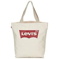 包 女士 購物袋 Levi's 李維斯 Batwing Tote W 淺米色