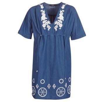 衣服 女士 短裙 Desigual ELECTRA 海蓝色