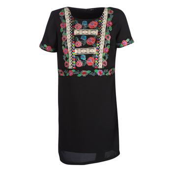 衣服 女士 短裙 Desigual TRALEE 黑色