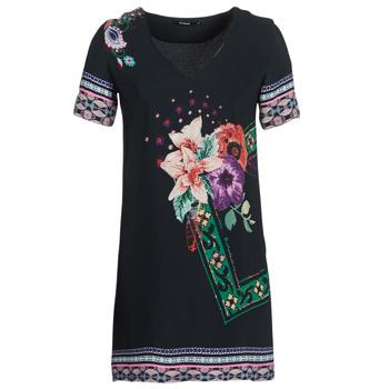 衣服 女士 短裙 Desigual BARTA 黑色