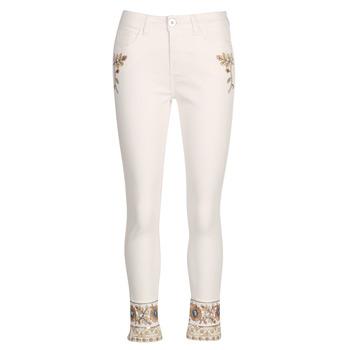 衣服 女士 直筒牛仔褲 Desigual SARI WHITE 海藍色
