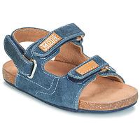 鞋子 男孩 凉鞋 Mod'8 KORTIS 蓝色 / 牛仔