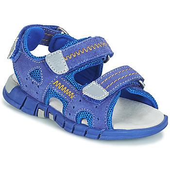 鞋子 男孩 運動涼鞋 Mod'8 TRIBATH 藍色