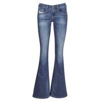 衣服 女士 喇叭牛仔裤 Diesel 迪赛尔 EBBEY 蓝色