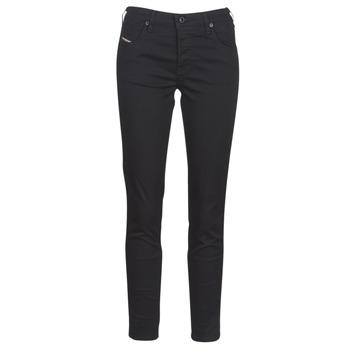 衣服 女士 紧身牛仔裤 Diesel 迪赛尔 BABHILA 黑色