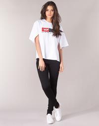 衣服 女士 牛仔铅笔裤 Diesel 迪赛尔 SLANDY 黑色