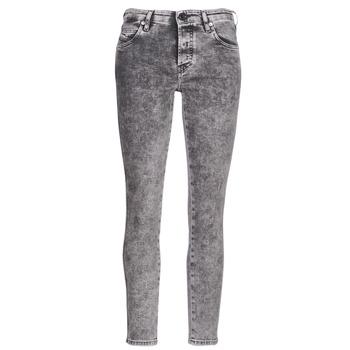 衣服 女士 緊身牛仔褲 Diesel 迪賽爾 BABHILA 灰色