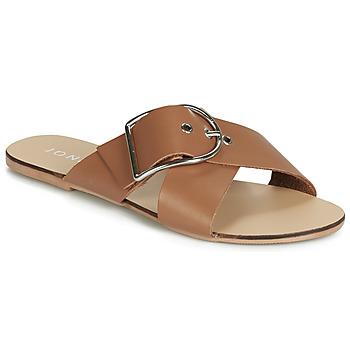 鞋子 女士 休闲凉拖/沙滩鞋 Jonak JASMINE 棕色