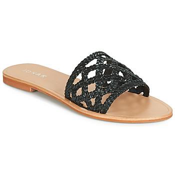 鞋子 女士 休闲凉拖/沙滩鞋 Jonak WEB 黑色
