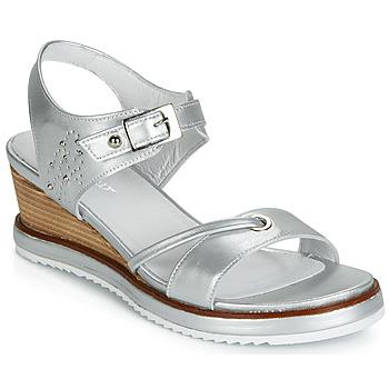 鞋子 女士 凉鞋 Regard RAXALI V3 ECLAT ARGENT 银灰色