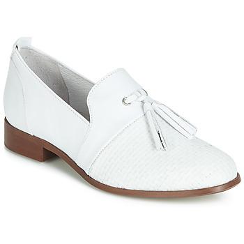 鞋子 女士 德比 Regard REVA V1 TRES NAPPA BLANC 白色
