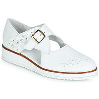鞋子 女士 德比 Regard RIXALO V1 NAPPA BLANC 白色