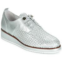 鞋子 女士 德比 Regard RIXIZA V2 TRES METALCRIS PLATA 银灰色