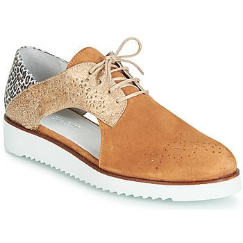 鞋子 女士 德比 Regard RIXULO V3 VEL CAMEL 棕色