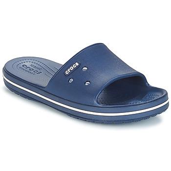 鞋子 拖鞋 crocs 卡骆驰 CROCBAND III SLIDE 海蓝色 / 白色