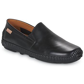 鞋子 男士 皮便鞋 Pikolinos 派高雁 JEREZ 09Z 黑色