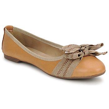 鞋子 女士 平底鞋 StylistClick LUNA 棕色