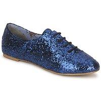 鞋子 女士 系带短筒靴 StylistClick NATALIE 蓝色