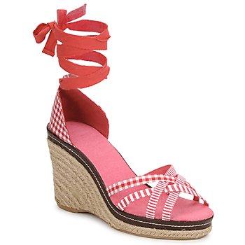 鞋子 女士 凉鞋 StylistClick ANGELA 红色