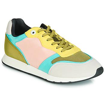 鞋子 女士 球鞋基本款 MTNG HANNA 玫瑰色 / 黄色 / 松石绿
