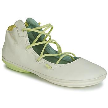 鞋子 女士 平底鞋 Camper 看步 RIGHT NINA LACE 米色