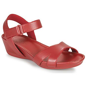 鞋子 女士 凉鞋 Camper 看步 Micro 红色