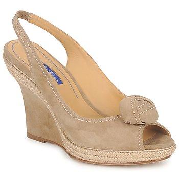 鞋子 女士 凉鞋 Atelier Voisin ALIX 灰褐色