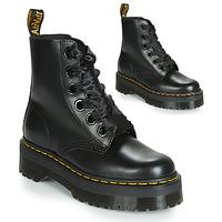 鞋子 女士 短筒靴 Dr Martens Molly 黑色