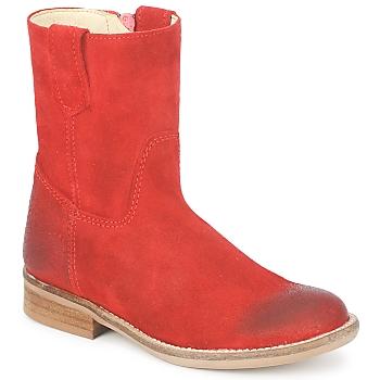 鞋子 女孩 短筒靴 Hip DIRAN 红色