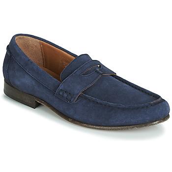 鞋子 男士 皮便鞋 Hudson SEINE 蓝色