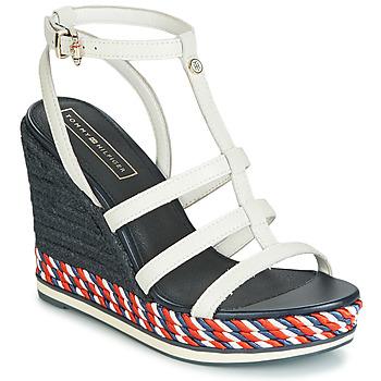 鞋子 女士 凉鞋 Tommy Hilfiger VANCOUVER 7A 白色