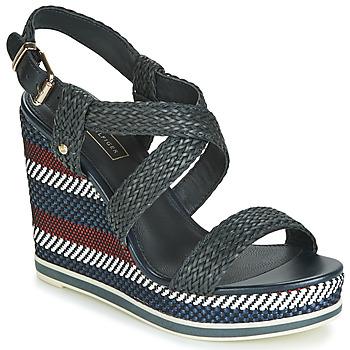 鞋子 女士 凉鞋 Tommy Hilfiger VANCOUVER 9Y 海蓝色