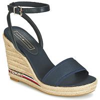 鞋子 女士 涼鞋 Tommy Hilfiger ELENA 78C1 海藍色