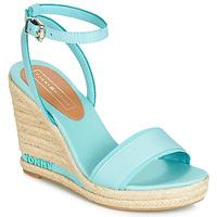 鞋子 女士 凉鞋 Tommy Hilfiger ELENA 78C 蓝色 / 天蓝