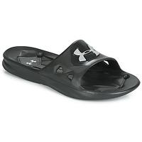 鞋子 男士 拖鞋 Under Armour 安德玛 Locker III SL 黑色