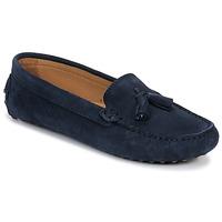 鞋子 女士 皮便鞋 Casual Attitude JALAYALE 海藍色