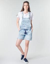 衣服 女士 连体衣/连体裤 Pepe jeans ABBY 蓝色