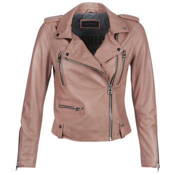 衣服 女士 皮夹克/ 人造皮革夹克 Oakwood NIGHT Vieux / 玫瑰色