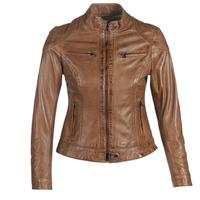 衣服 女士 皮夾克/ 人造皮革夾克 Oakwood LINA 棕色