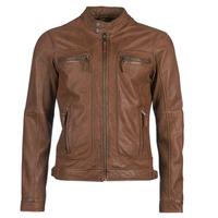 衣服 男士 皮夹克/ 人造皮革夹克 Oakwood CASEY 棕色